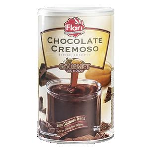 Chocolate Cremoso Estilo Europeu